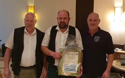 Heiko Gamlin für 25-jährige Vorstandsarbeit ausgezeichnet